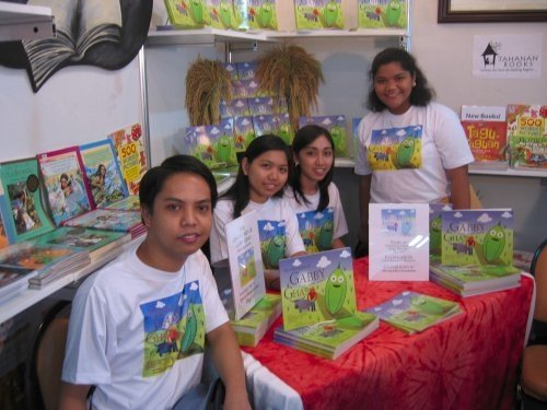 The whole team at Manila Book Fair 2009